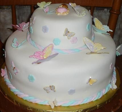 Butterfly Baby Shower Cake Images : Butterfly baby shower cake Baby ideas Pinterest Baby ...