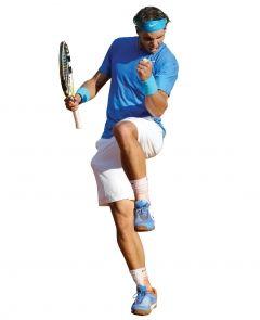 Enseñar a los niños ejemplos de conducta deportiva como por ejemplo Rafa Nadal  http://www.rafaelnadal.com/