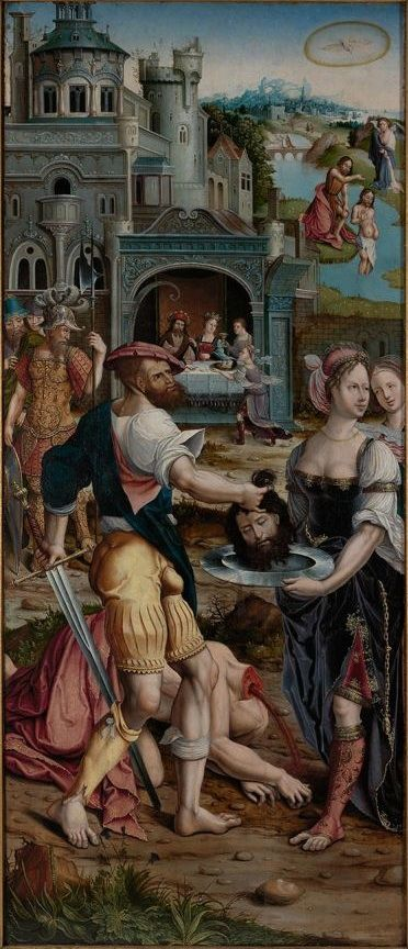 The Beheading of St John the Baptist by Jan Rombouts