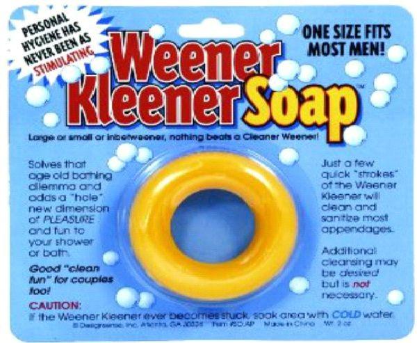 Weener Kleener Soap-Funny Soap Bars