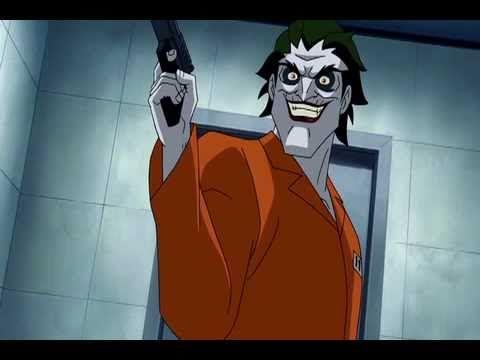 Batman Under The Red Hood. Joker and Black Mask Scene.