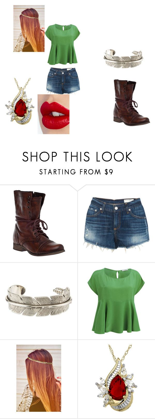 """when you meet Slenderman"" by amythekiller on Polyvore featuring interior, interiors, interior design, home, home decor, interior decorating, Steve Madden, rag & bone, Yves Saint Laurent and D.Efect"