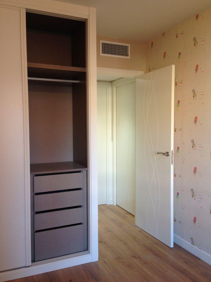 77 best reforma en madrid armarios puertas images on - Diseno interior armarios ...