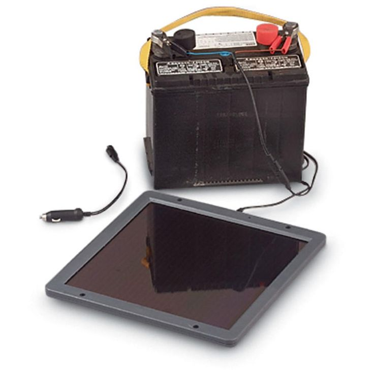 5w Solar Battery Trickle Charger Power Batteries Solar