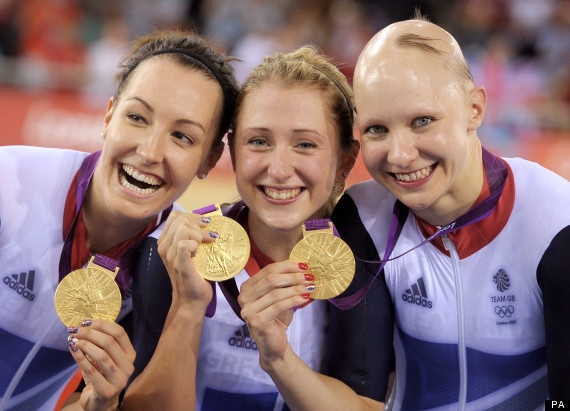 Another Team GB Gold in the velodrome