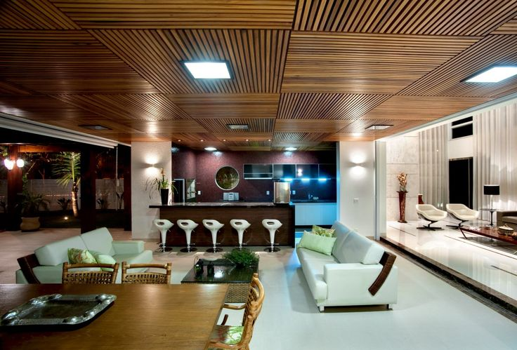 Ceiling - good idea instead of conventional drop tile ceiling
