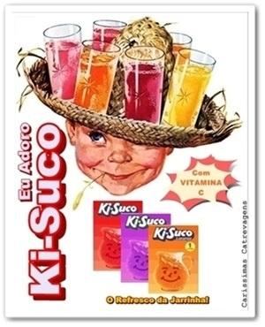 Propaganda antiga do ki-suco