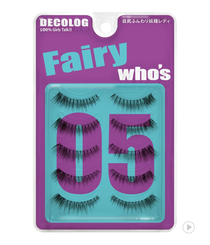 Delolog Who's Eyelash No.5 Fairy