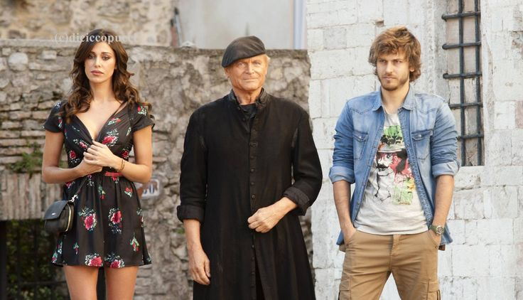 Terence Hill Don Matteo 10 backstage