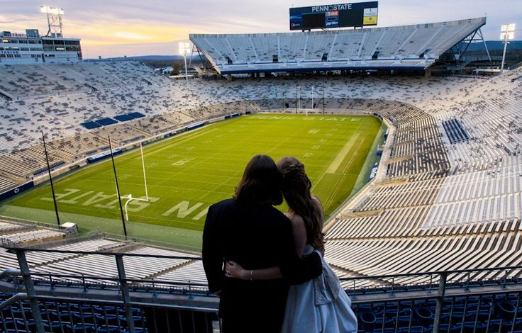 Propose to her at a Penn State game... OMG I WOULD DIE