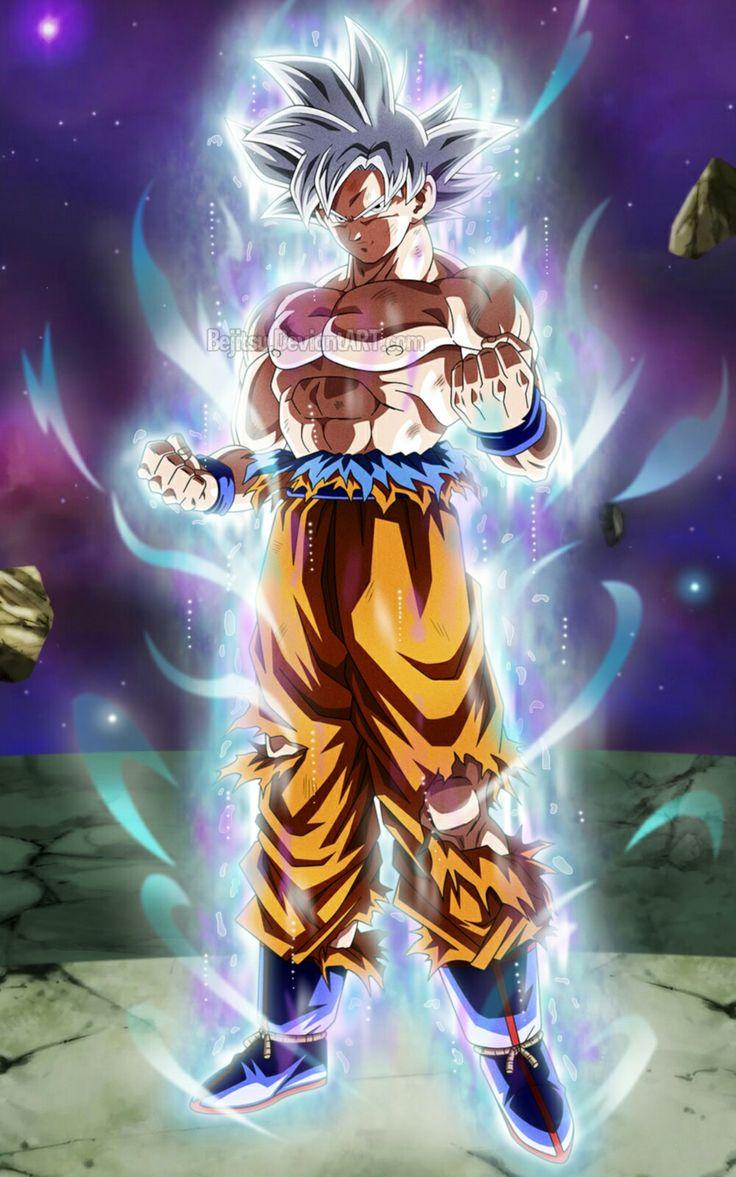 Goku ultra instinto dominado universo 7 dragon ball dragon ball goku dragon ball gt - Imagenes de dragon ball super ultra instinto ...