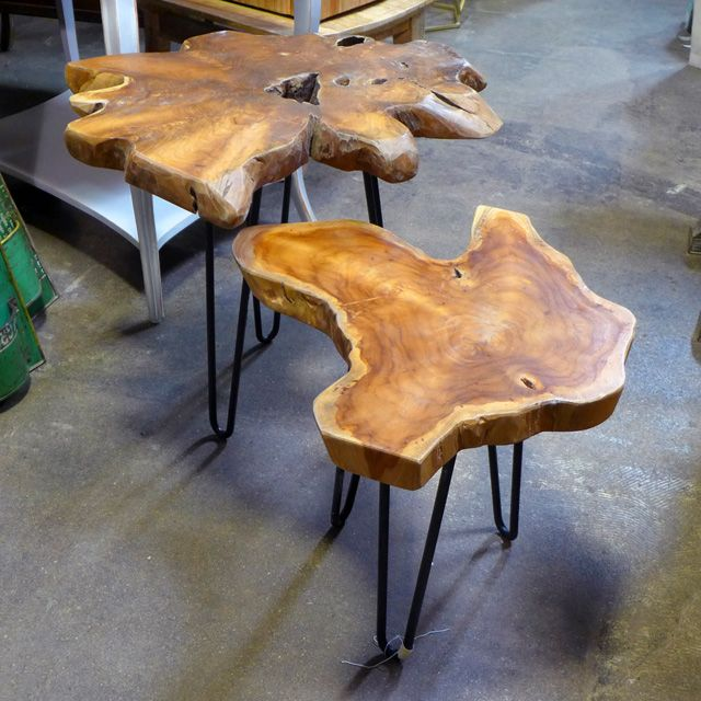 Wood Sliced Turned Into A Top For Coffee Table Natural Wood Coffee Table Coffee Table Wood Wood Slab Table