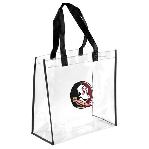 Team Beans Florida State University Clear Reusable Bag (Clear, Size ) - NCAA Licensed Product, NCAA Accessories at Academy Sports