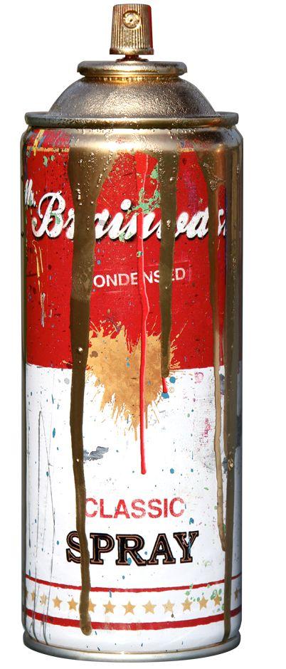 Spray Can - Gold by Mr. Brainwash (2013)
