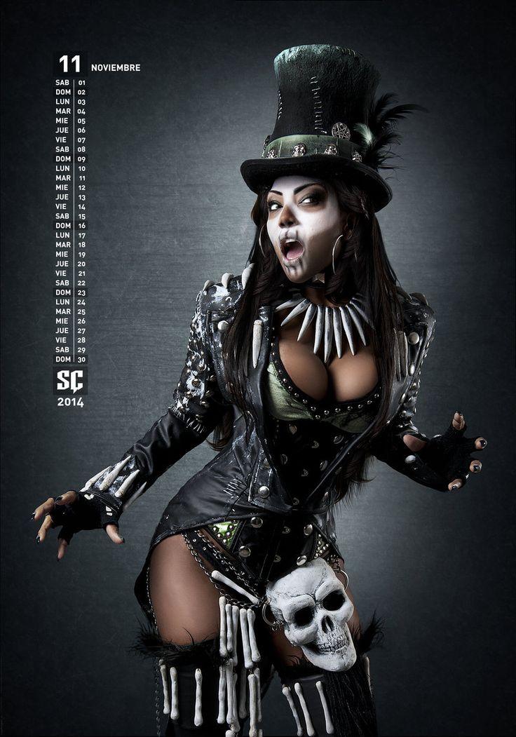 Voodoo witcher Noviembre by lasupercharger.deviantart.com on @deviantART