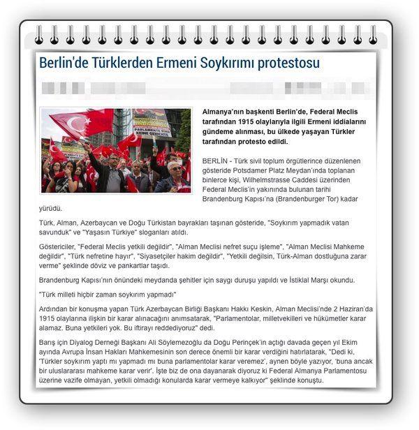 Almanya'da Türkler Alman Parlementosu önünde miting yaptı,  AİHM kararını hatırlattı #Almanya #Türkiye