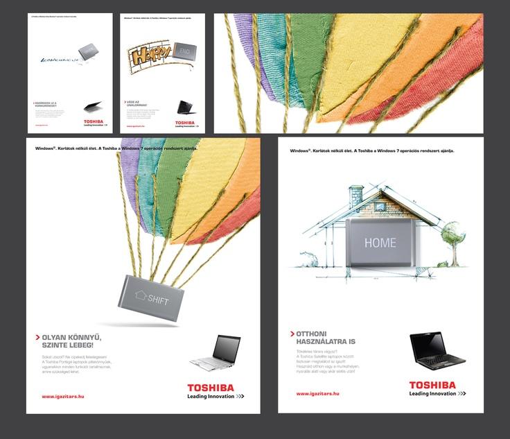 Toshiba notebook print