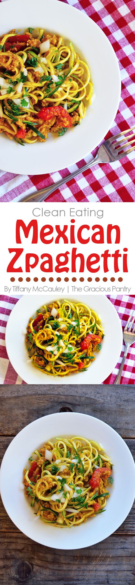 Need a new and tasty Zoodles recipe? This dish is filled with spice, Mexican-style goodness from fresh, nutritious produce and lean meat. Enjoy this for #TurkeyTuesday ! @fosterfarms ~ http://www.thegraciouspantry.com