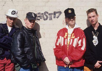 "East 17 !!! my kind of ""boygroup"" I grew up with"