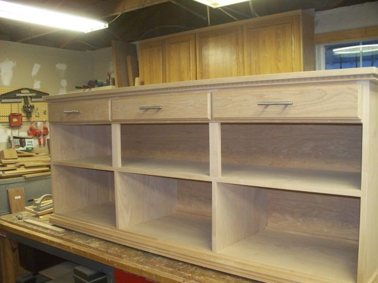 264 best kreg jig projects images on pinterest for Build kitchen cabinets with kreg