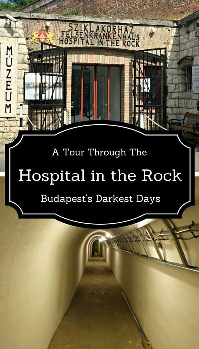 The Hospital in the Rock: A tour through Budapest's darkest days