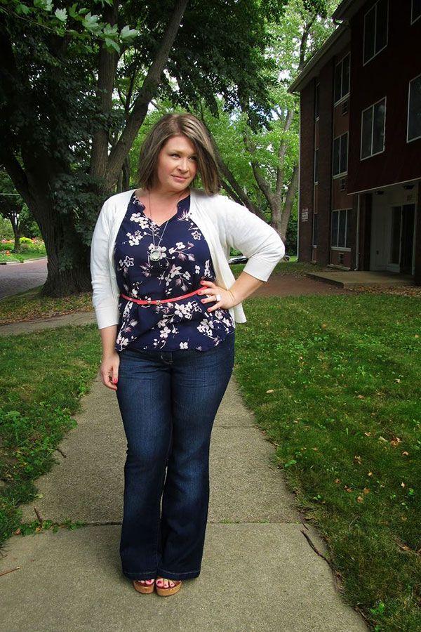 Curvy Womens Jeans