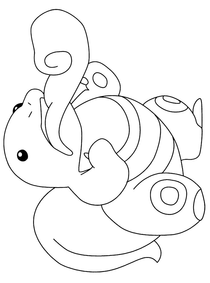 Free Pokemon Coloring Page Pages 9 Printable