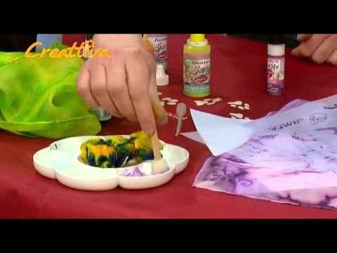 Dipingere su stoffa: quali colori scegliere e come orientarsi - YouTube