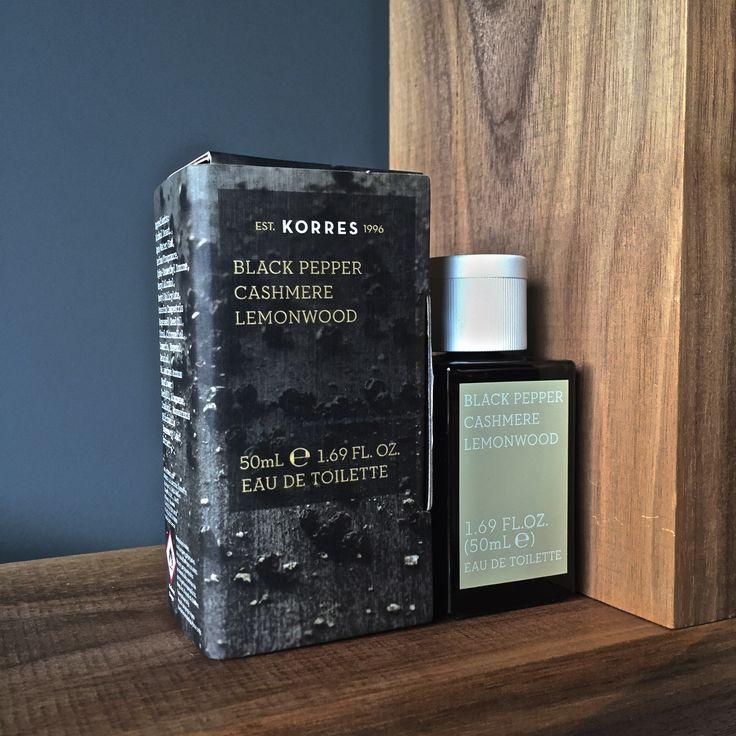 Black Pepper / Cashmere / Lemonwood #korres #fragrance