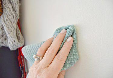 Σπιτική λύση καθαρισμού για τοίχους