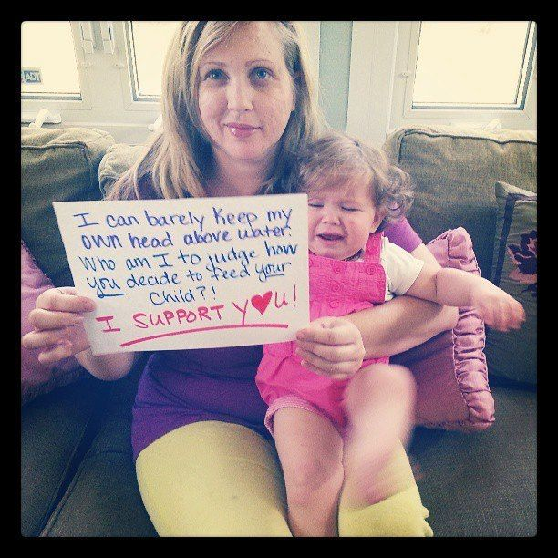 Support: Breastfeeding and Formula