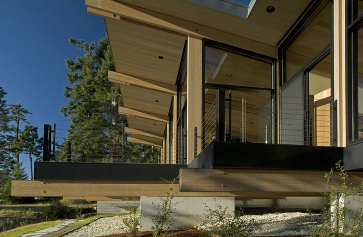 Wood & Glass Cabin | Chesmore|Buck Architecture