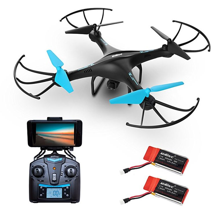 Force1 U45W Blue Jay Drone With Camera Live Video HD Drones For Kids Adults