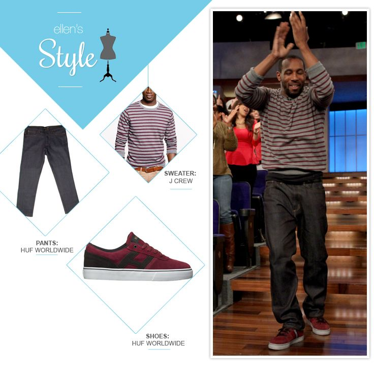 tWitch's Look of the Day: Sweater, jeans and kicks