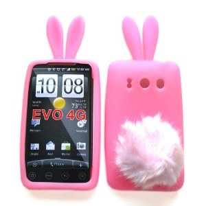 funny, but completely impracticalHtc Evo, 4G Sprint, Skin Cases, Cellular Connection, Cell Phones Accessories, Phones Cases, Bunnies Skin, Evo 4G, Furries Tail