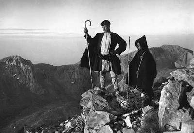 Ελληνες Βοσκοί, Ελλάδα 1901-1903, Fr. Boissonas