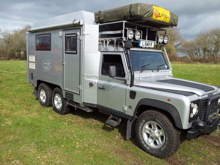 Range Rover Defender >> Awesome Land Rover Defender 130 6x6 Camper | RANGE ROVER LAND ROVER | Pinterest