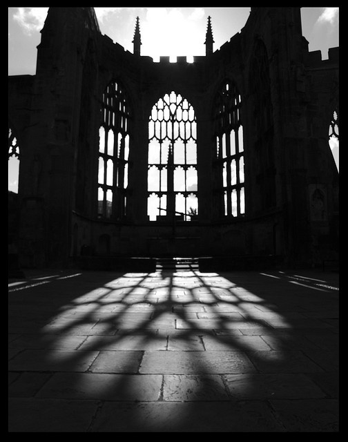 Old Coventry Cathedral (England) #Coventry