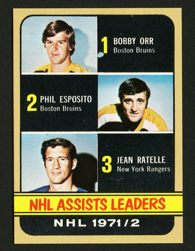 1972 TOPPS ASSISTS LEADERS #62 BOBBY ORR PHIL ESPOSITO MINT FROM HOCKEY VENDING @eBay! http://r.ebay.com/oh2cQE