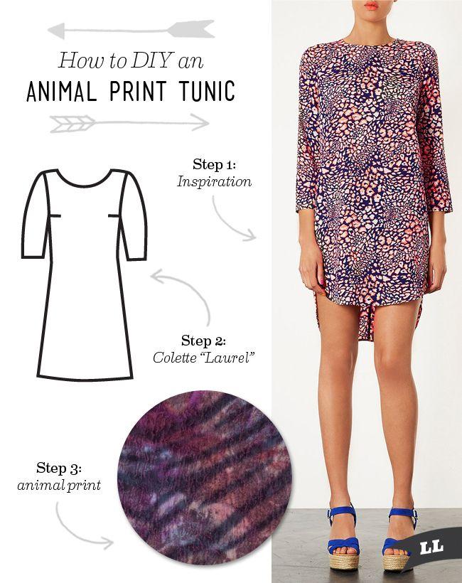Lula Louise: How to DIY – Animal Print Tunic