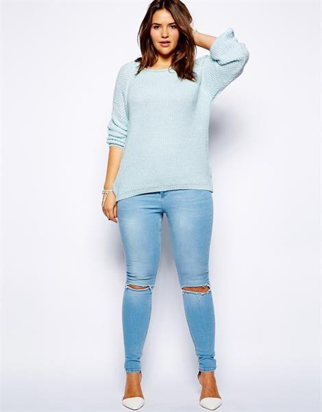 Как подобрать свитер под джинсы