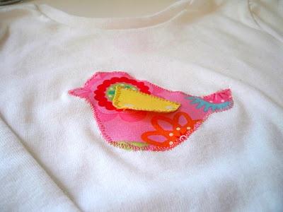Bird Applique Shirt
