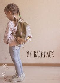 Easy Step to Step DIY!: Simple BackPack Tutorial For Child