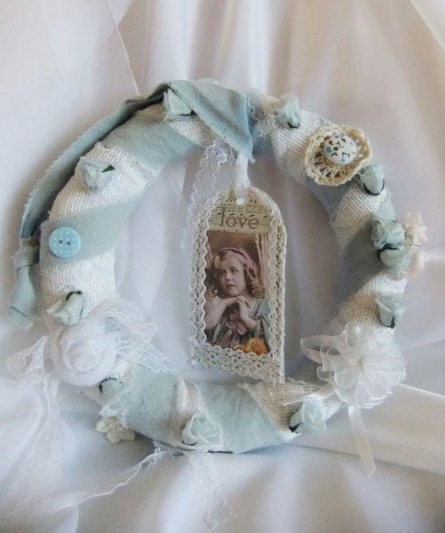 Shabby Kränzchen klein von Monique-Marie auf DaWanda.com noch verfügbar um 12,50
