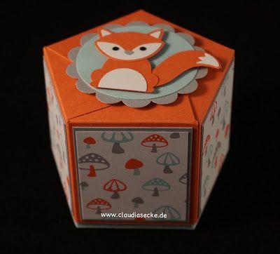 Stampin Up, Verpackung, Gift Bag Punch Board, Box, Claudias Ecke