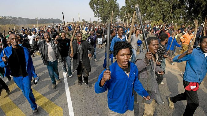 NIGERIAN TOP SECRET: South Africans Want War on All Foreigners in Their...