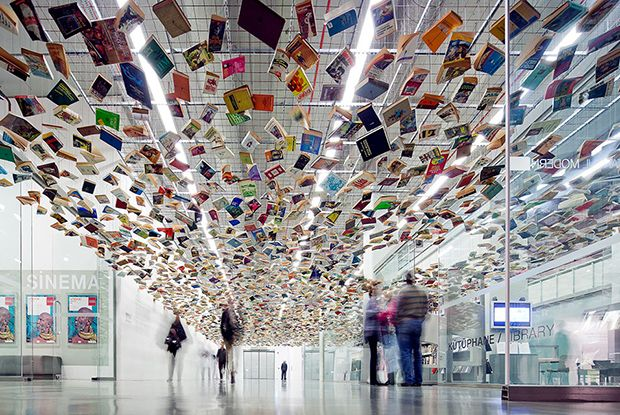False Ceiling – Istanbul (2005) by Richard Wentworth
