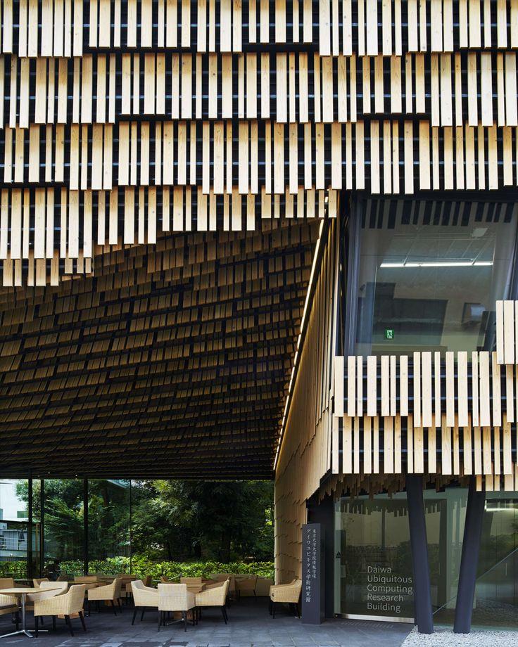 Daiwa Ubiquitous Computing Research Building   Kengo Kuma and Associates