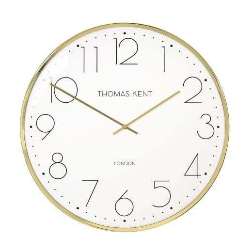 best 25 gold wall clock ideas on pinterest copper. Black Bedroom Furniture Sets. Home Design Ideas