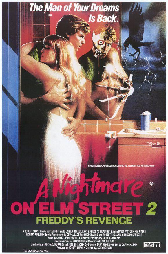 Nightmare on Elm Street 2: Freddy's Revenge 11x17 Movie Poster (1985)